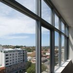 Clear windows with 35 series awnings